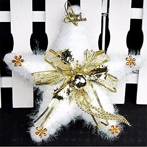 Divertente serie di natale decorazione Novità Peluche doni:decorazione di Natale Decorazioni di Natale regalo ornamento stella ornamenti ornamento 26*26cm