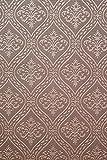 Vinyltapete Tapete Retro # braun/silber # Kingwelson # 510205