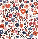 Klebefolie Möbelfolie Fiori bunt Dekorfolie 45 cm x 200 cm Selbstklebefolie Blumen