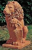 Steinfiguren Dekofigur Löwe Garten Statue aus Betonwerkstein Gartenfigur Gartenskulptur
