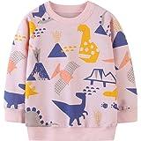 CM-Kid Jersey para niña, algodón, manga larga, para niños de 1 a 7 años, 92 a 122