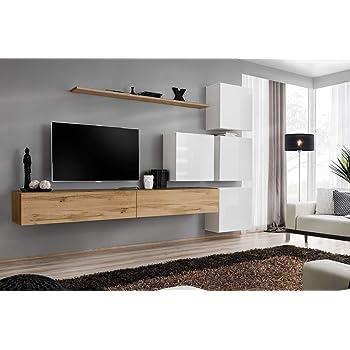 Wuun Tv Board Hängend8 Größen5 Farben140cm Matt Weiß
