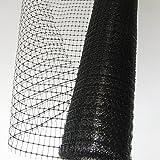 Gartennetz, Geflügelzaun, Mehrzwecknetz 20 x 35mm, 1,5 x 25m, schwarz