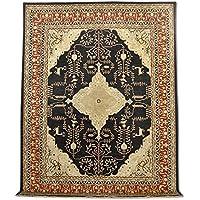 tradizionali a mano Chobi Serapi tappeto, lana, nero, 272x 361cm, 8'27,9cm x 11' 25,4cm ( ft)