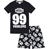 99 Problems Battle Royale Legend Gaming Pijama corto de algodón