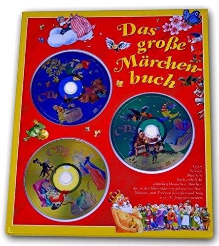 Das große Märchenbuch: Schneewittchen, Rapunzel, Der Froschkönig, (Original Verlag: Streetlife) (Und Rapunzel Schneewittchen)