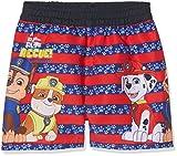 Nickelodeon Paw Patrol, Pantaloncini da Mare Bambino, Rosso (Red 19-4010TC), 4 anni