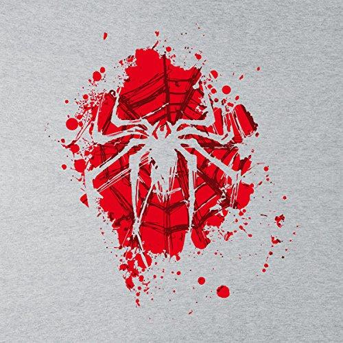 The Spider Spiderman Red Version Women's Vest Heather Grey