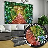 GREAT ART Weinreben Allee Wanddekoration - Wandbild Grafik Motiv XXL Poster (140 x 100 cm)