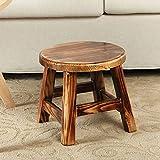 FEI Comodo Sgabello per tavolino Sgabello per adulto Sgabello per la casa Sgabelli in legno massello Forte e durevole