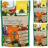 3 x 40 (120 Stk) Neudorff Azet DüngeSticks für Blühpflanzen, NPK 7-3-6