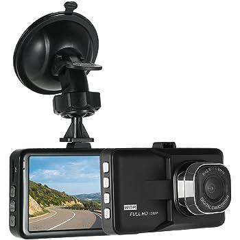 Vehicle Video Recorder TOOGOO Car Dvrs 2.4 LCD Screen Full Hd 1080p 120 degree wide Angle Night Vision Vehicle Camera Video Recorder Dash Cam G-sensor Night Vision HDMI R