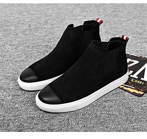 uomini scarpe casual moda casual chelsea boots moda maschile stivali at