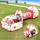 Playhood 3 in 1 Fun Ball Pool Playing Pen for Kids, Toddlers, Pets (Multicolour, Balls Not Included)
