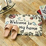 Fußabtreter kreativ innen-und außenbereich Teppich küche Schlafzimmer Bad Anti-rutsch-Matte saugfähig weiche schöne-A 40x60cm(16x24inch)