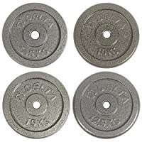 Delta Elite Döküm Plaka, Gri, 2 X 7,5 kg