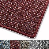 Teppich fröhlich gepunktet | Qualitätsprodukt aus Deutschland | GUT-Siegel | viele Farben und Größen (rot, 200x200cm)