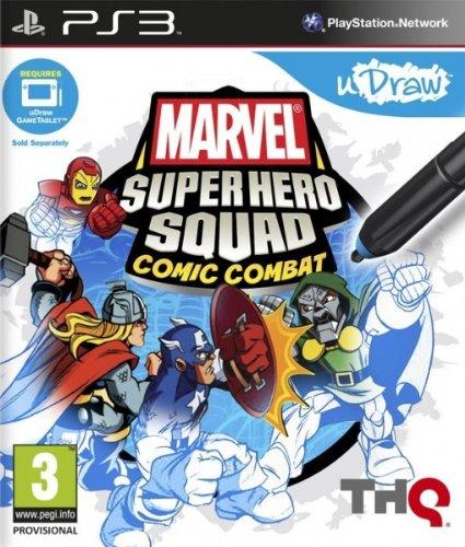 Marvel SHs Comic Combat - uDraw [Importación Italiana]