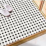 JY ART X Fliesen-Aufkleber Dekorative Küchen-Fliesen überkleben - Dekorative Bad-Gestaltung Tile Style Decals Bodenaufkleber DB035, 01