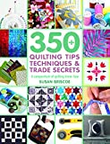 350+ Quilting Tips, Techniques & Trade Secrets (350 Tips, Techniques & Trade Secrets): A compendium of quilting know-how