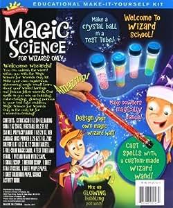 POOF-Slinky 0SA247 Scientific Explorer Magic Science for Wizards Only Kit, 10-Activities bébé, nourrisson, enfant, jouet
