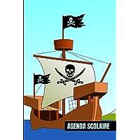 Agenda Scolaire 2021 2022 pirate: Planificateur Journalier une page par jour - Organiseur Scolaire (Septembre 2021…