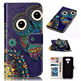 LG G6 Case, BONROY® LG G6 Painting design PU Leather Phone Holster Case, Flip Folio Book Case, Wallet Cover with Stand Function, Card Slots Money Pouch Protective Leather Wallet Case for LG G6