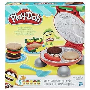 Play-Doh - B5521EU4 - Pâte à Modeler - Burger Party