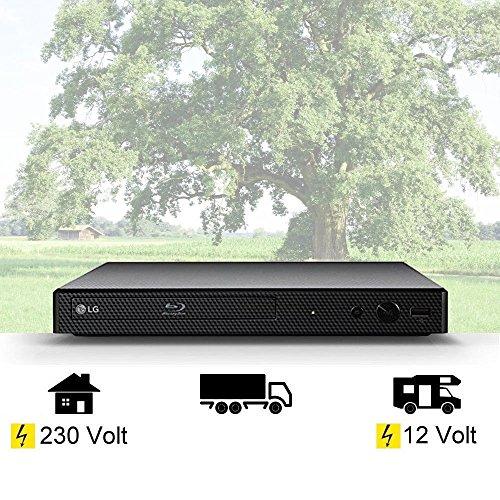 DVD Mini Blu-ray-Player mit HDMI, USB, 12Volt + 230 Volt Wohnmobil, Boot, LKW etc. (12-volt-blu-ray-dvd-player)