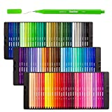 Shuttle Art fineliner, 100colori 0.4mm fineliner color Pen set fine disegno a penna a punta fine Markers perfetto per libri da colorare disegno e Bullet Gazzetta progetti artistici