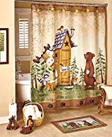 Nature Calls Shower Curtain by GetSet2Save from Getset2save
