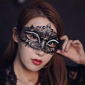 SKY TEARS Maschera Carnevale Maschere veneziane in Stile Veneziano in  Metallo 810c7ca79a14