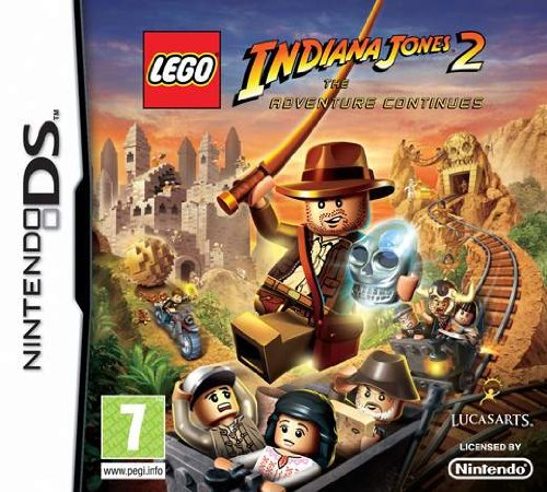 Lego Indiana Jones 2: The Adventure Continues (nintendo Ds) Picture