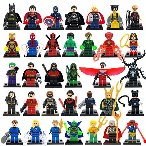 los-vengadores-superheroes-lote-de-34-figuras-compatibles-building-blocks-the-avengers-marvel