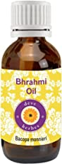 Deve Herbes Pure Brahmi Oil 50 ML (Bacopa monnieri)