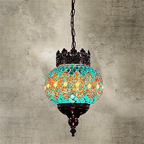Bohemia del color del mosaico de estilo turco de la lámpara del resta
