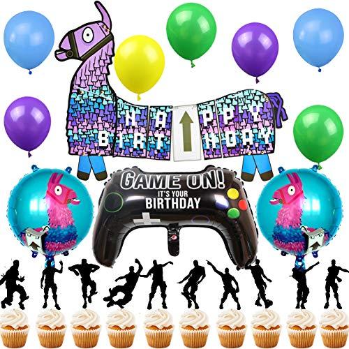 Vajilla Globos /& Decoraciones {PROCOS} nuevo! Llama rango de fiesta de cumpleaños