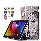 Skytar Coque de Protection pour Asus ZenPad 10 - Flip Case Cover PU Cuir Etui...