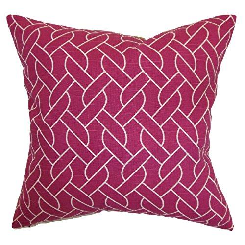 The Pillow Collection Neptune Bettwäsche-Set, geometrisch, Azalee King/20