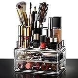 Ecooe Acryl Kosmetikorganiser Make Up Organizer Kosmetikständer (18×10×15cm)