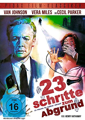 23 Schritte zum Abgrund (23 Paces to Baker Street) - Packender Krimi-Thriller mit Van Johnson und Vera Miles (Pidax Film-Klassi