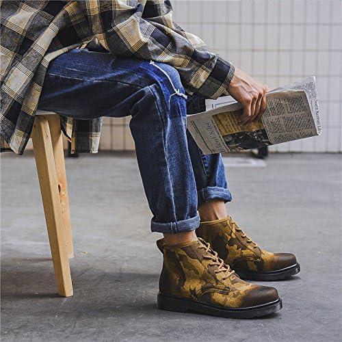 HL-PYL-scarponi versione coreana di di di camuffamento alta calzatura stivaletti stivali di Martin English torna alla antica stivali da lavoro,39,Coloreee ossessionato B078MJQNT7 Parent | Design Accattivante  | una vasta gamma di prodotti  | Arte Squisita  6f69d3