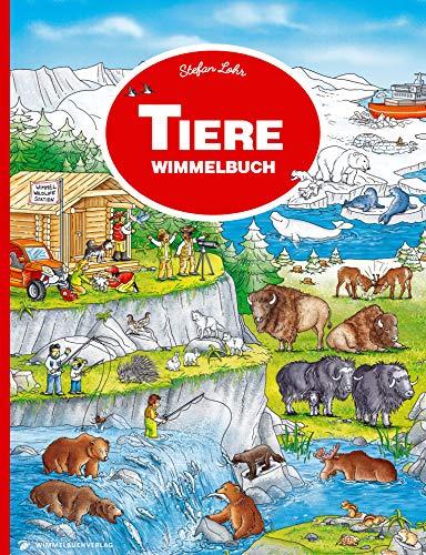 Tiere Wimmelbuch: Kinderbücher ab 3 Jahre (Bilderbuch ab 2-4)