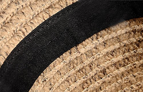 Sitong r¨¦tro chapeau de soleil de laine en laine chapeau de feutre de feutre en laine Noir