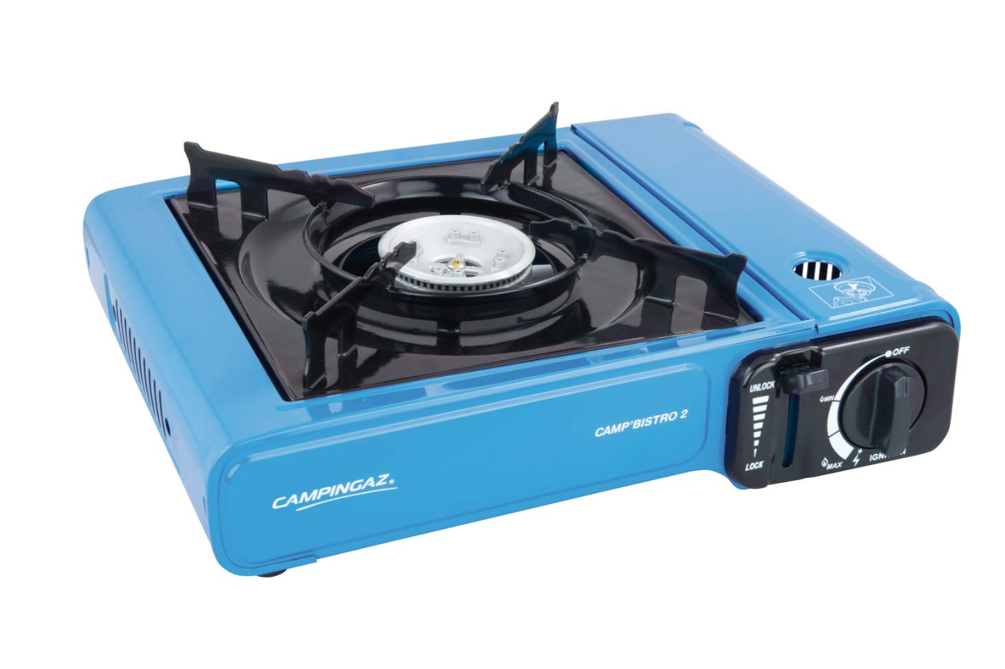 Campingaz Camp Bistro 2, Camping Stove, Portable Gas Cooker for Camping or Festivals, Easy Handling 1