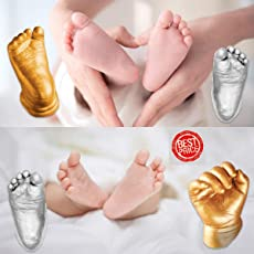 3D Molding 350gm Casting Powder 500gm Kit for Hand and Foot Cast Newborn Baby and Toddler
