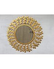 Furnish Craft Unique Designed Wall Mirror for Home Decor, Living Room, Bedroom, Bathroom