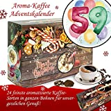 Geschenk zum 59. | Adventskalender | Kalender Advent Frauen Kalender Advent Männer Kalender Advent Arabica Bohnen Adventskalender Arabica Bohnen Adventskalender Flavoured Coffee