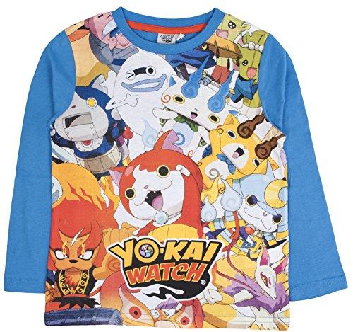 YO-Kai Watch - Camiseta de Manga Corta - Manga Larga - para...