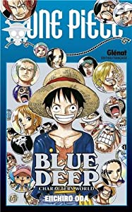 One Piece GuideBook Edition simple Blue Deep : Characters World